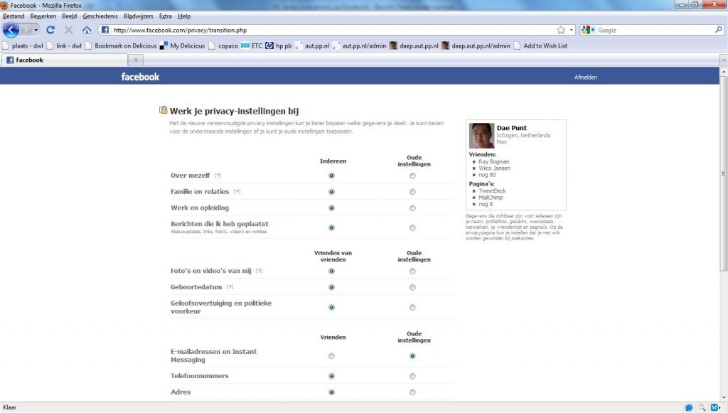 Facebook introduceert: de nieuwe privacyinstellingen